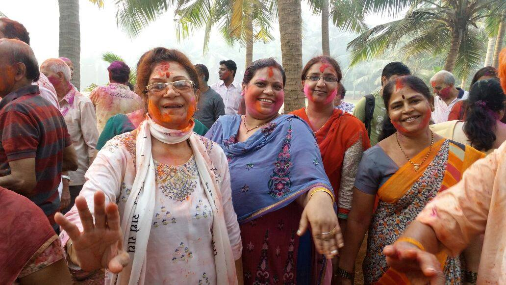 PDP's Eco-Friendly and Colourful Holi